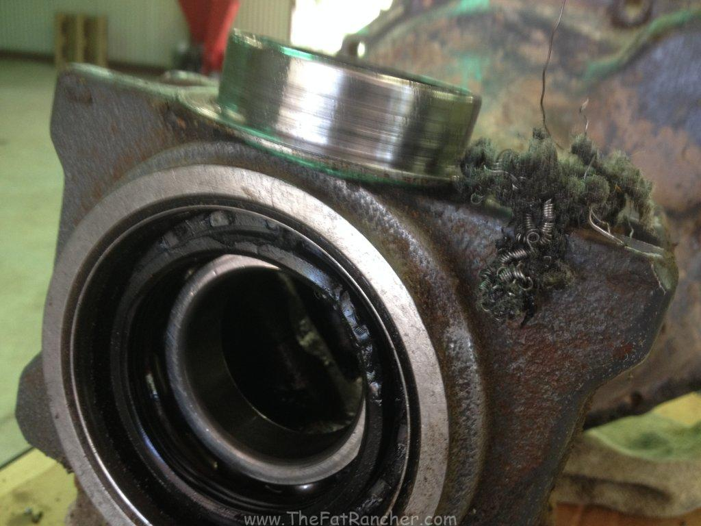 Failed Axle Bearing